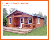Wholesale price russian prefabricated canadian spruce Log cabin Wooden house 120 sqm