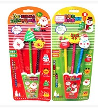 Funny HB pencil with Blister card pckage ,pencil supplier