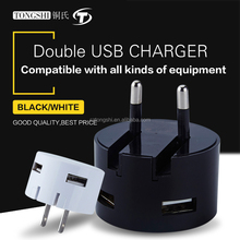 China mobile phone accessories 5v 2.1a wholesale usb wall charger