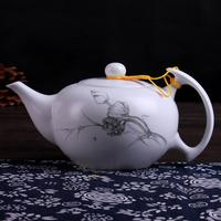 2016 novelty tea set pyrex glass teapot pot sex toy unique tea set TG-505T339-W-1