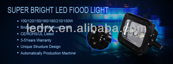 UL competitive price aluminium ip65 100w 150w 240w outdoor flood led light
