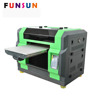 Funsunjet A3 SIZE DX5 head pvc id card printing machine UV printer