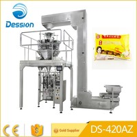 Automatic weighing frozen food beef meatballs packing machine