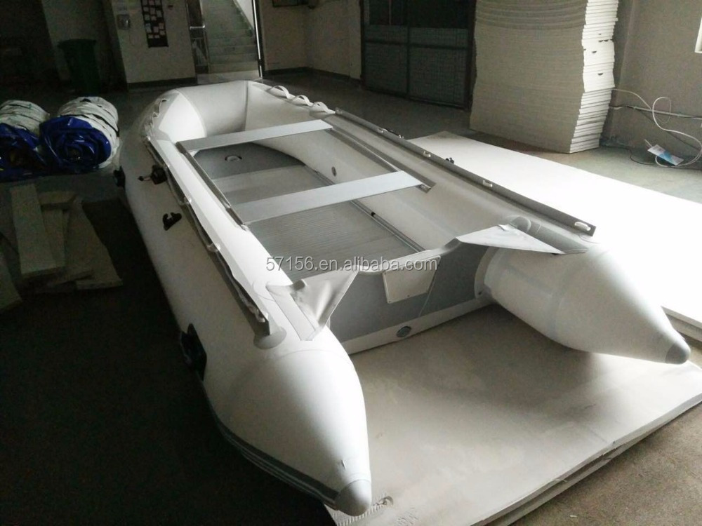 CE certificate 4 person reinforced inflatable fishing boat for sale