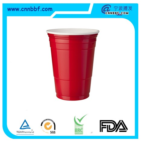 BF05B08 16oz red & white cup(double wall)