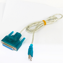 Usb to serial <span class=keywords><strong>cable</strong></span> <span class=keywords><strong>de</strong></span> impresora db25 25-pin macho del <span class=keywords><strong>puerto</strong></span> paralelo