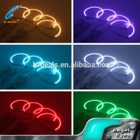 colorful hot selling product Mazda 3 car led halo ring rgb angel eyes for Mazda