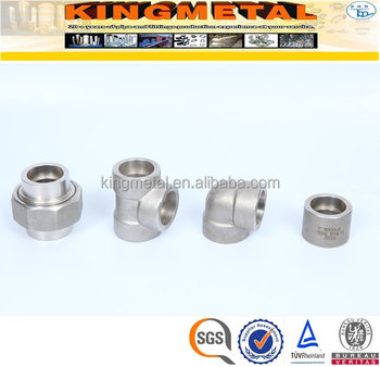 ASTM A182 304/316 3000# High Pressure Stainless Steel Male/Female Fittings