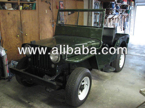 1948 Willys Jeep CJ2-A