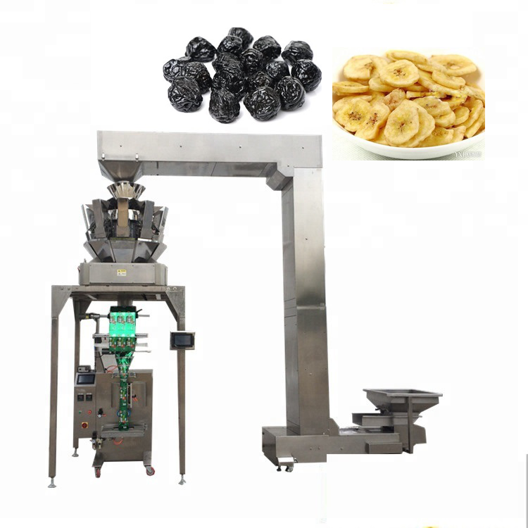 gusset bag YB-<strong>Z10</strong> Automatic 10 head weigher potato chips granule grains packaging machine