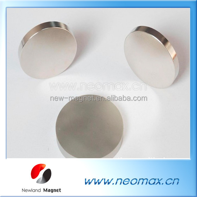 Neodymium Hard Disc Small Round Magnets with Nickel-Copper-Nickel Coating