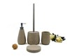 Whorl Polyresin sandstone bathroom accessories set