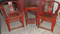 Chinese antique chair and table LWE157