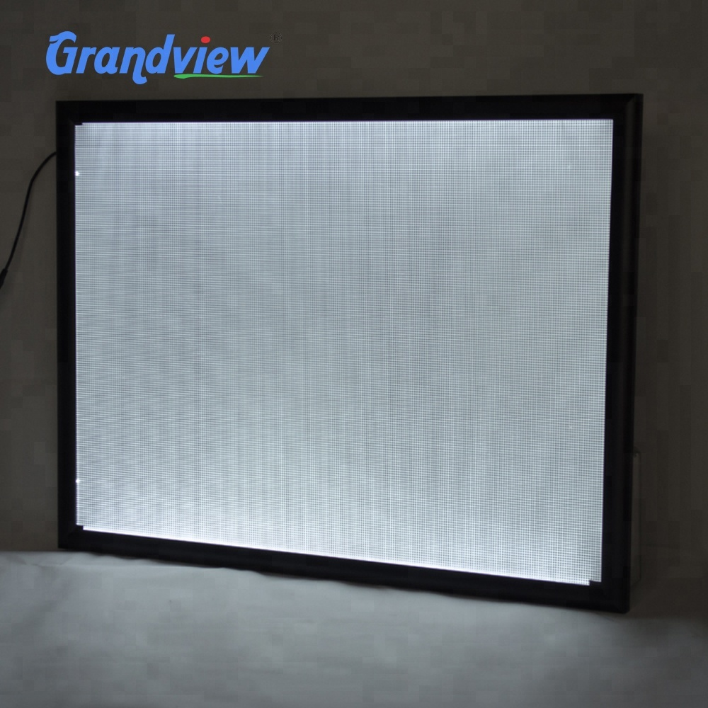 Ultra thin outdoor use A2 <strong>advertising</strong> acrylic display poster <strong>frame</strong> <strong>Led</strong> light box