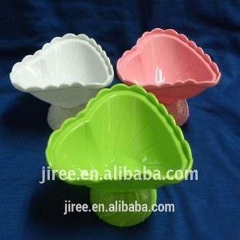 Colorful Disposable Plastic Ice Cream Cup