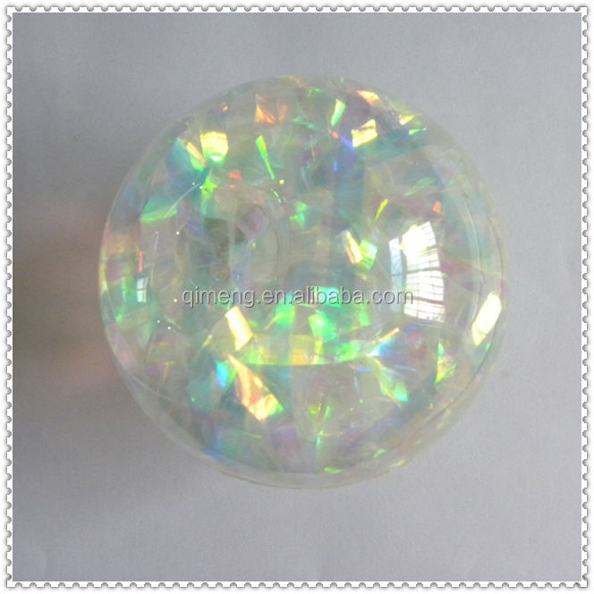 Hi Bounce 10cm Water Bouncing Balls With Diamond Surface Flashing Light
