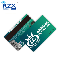 12 years Factory Price Plastic Litho Printed Magnetic Card