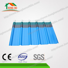 Heat Insulated Carbon Fiber UPVC Roofing Tile