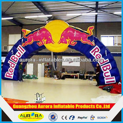 CHEAP Red bull inflatable arch price