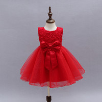 wholesale flower girl dresses high quality simple design beautiful dress for kids