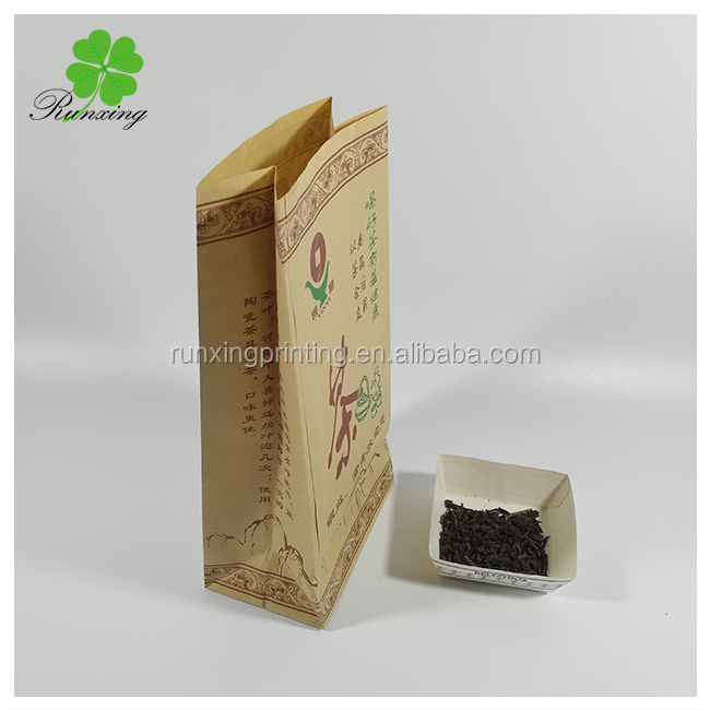 bread packaging kraft paper bags for food with window