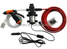 Portable Car Washer with Electric High Pressure Water Pump