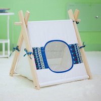 wholesale tent, soft cotton fabric teepee pet