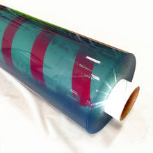 2017 Hot Sale soft transparent super clear PVC film roll for packaging