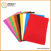 100% Acrylic Needle Nonwoven Felt For Antiact And Handicraft