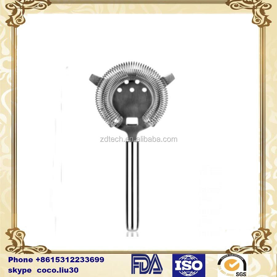cocktail round handle strainer ZD20160316 S668