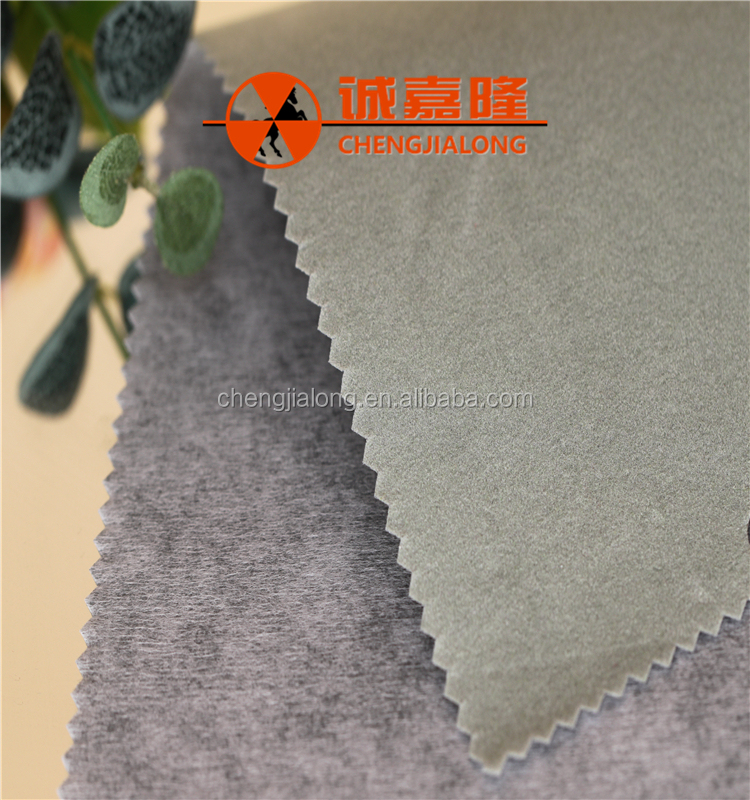 Multi-purpose flocking spunlace nonwoven upholstery fabric for wipes easily flush