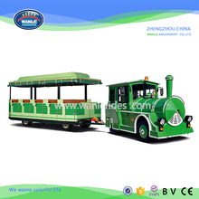 Wanle Road trackless electric Tourist Train for sale