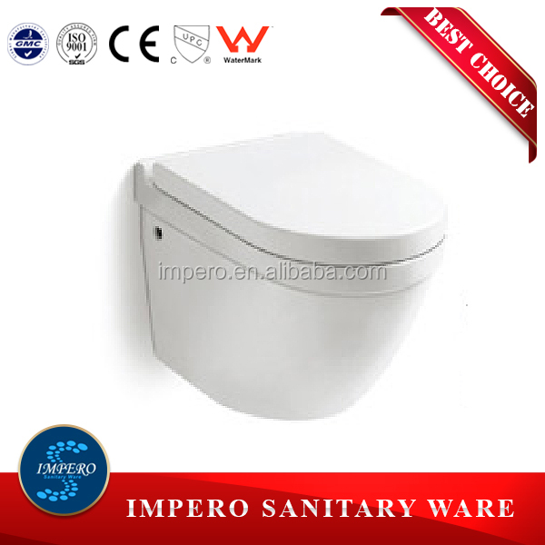 New Design sanitary ware ceramics Wall Hung Toilet Price From Chaozhou