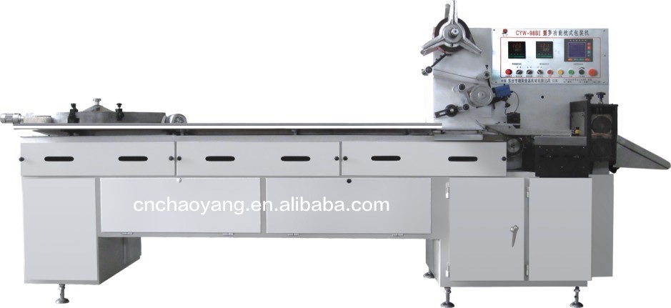 Computer controlled Multi-function Pillow-type Packing Machine