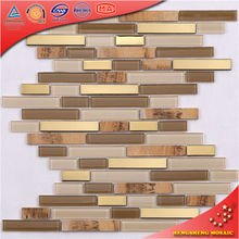 Mosaic Strip Stainless Steel Blend Marble Japanese Roof Tiles