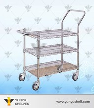 Double-side Perforated Supermarket Shelf, new design gondola, wholesale shop equipment
