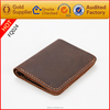 Alibaba china supplier Crzay genuine leather men wallet shop brands with free logo