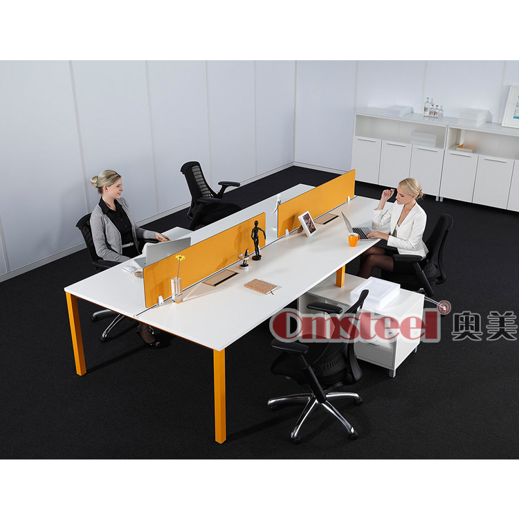 Office furniture workstation/4 seat office workstation cubicle