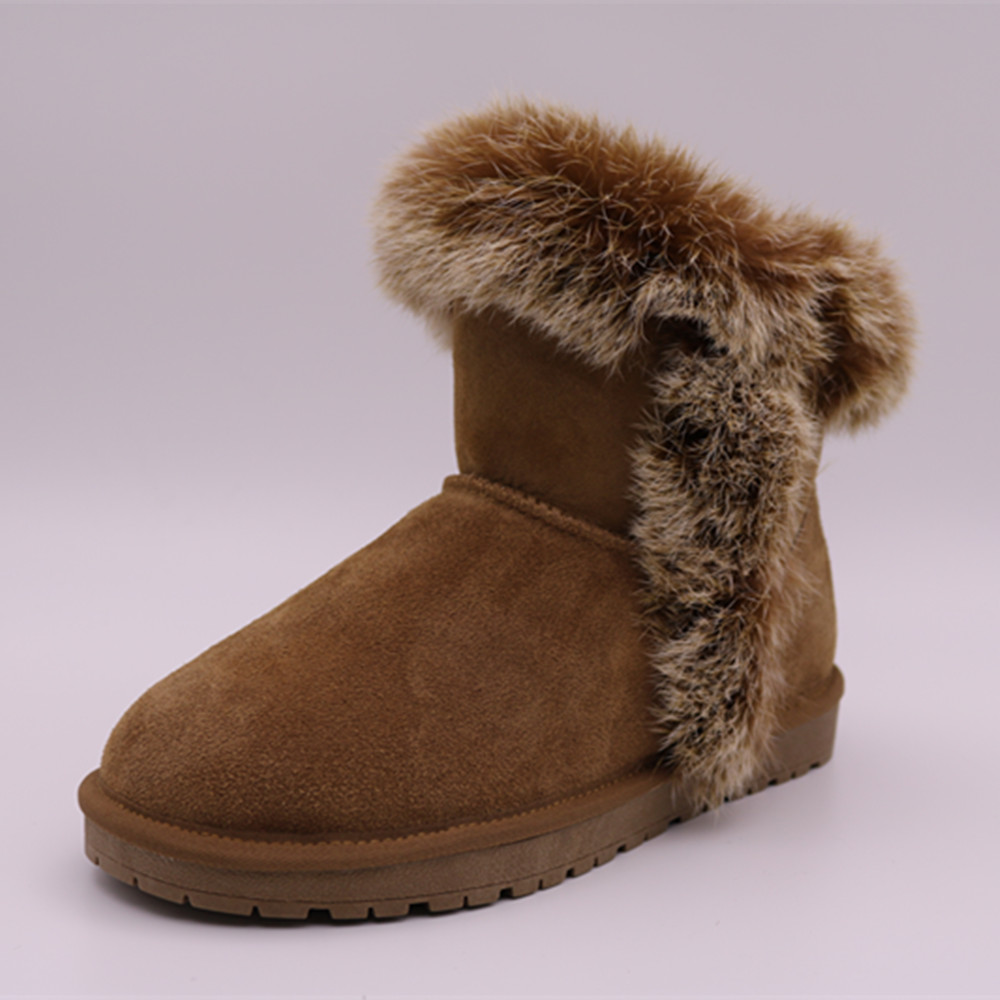 WZ804 hot sale fashion new style warm shoes china wholesale winter women snow boots