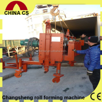 Sewing Connected Oil Storage Silo Forming Machine