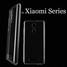 Clear Soft TPU Phone Case for Xiaomi Redmi Note 4X 4 3 Pro Prime 3s 4a 3x for Xiaomi mi5 mi6 6 mi5s Plus mi4c mix max 2 Cover