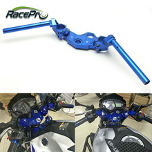 CNC Aluminium Motorcycle Handlebar Bar With Clamp for Yamaha YZF R3 R25 MT03 2013 2014 2015