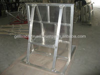 hot-dip galvanized crowd control barrier