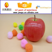 YIPAI Decorative Plastic Artificial Fake Fruit Home Decor Craft Apple red