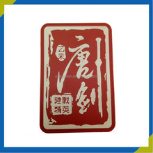 Customed 3d rubber badge sew on pvc patch with high quality