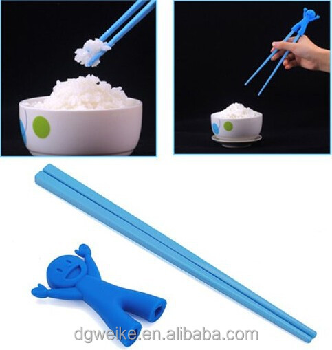 silicone chopsticks with holder silicone training chopsticks