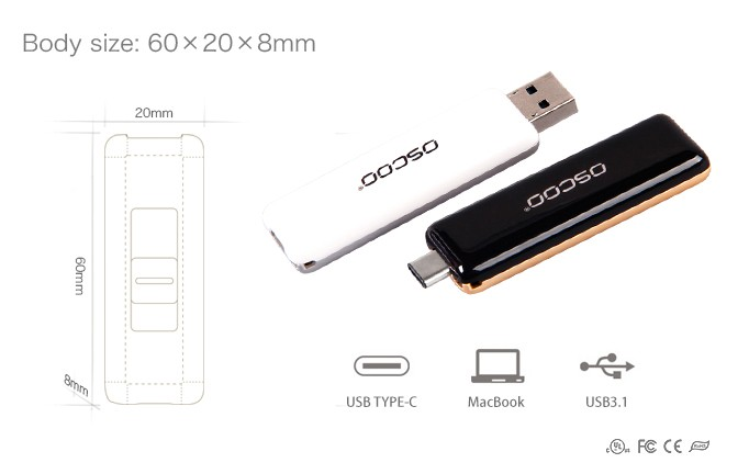 Type C 3.1, usb 3.0 flash memory drive OTG