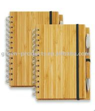 biodegradable Bamboo notebook (Item No: TBB005)