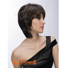 The old lady synthetic wig, Easyoung hair wig distributor