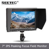 Less than 400g 7 inch IPS 17mm thickness Histogram ExposureZebra False Colors HDMI field monitor camera steadicam
